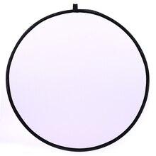 CY 43 inch 110 cm flash Translucent reflector Draagbare Inklapbare Light Ronde Fotografie Reflector voor fotostudio Foto Disc