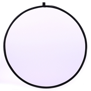 Image 1 - CY 43inch 110cm flash Translucent reflector Portable Collapsible Light Round Photography Reflector for photo Studio Photo Disc