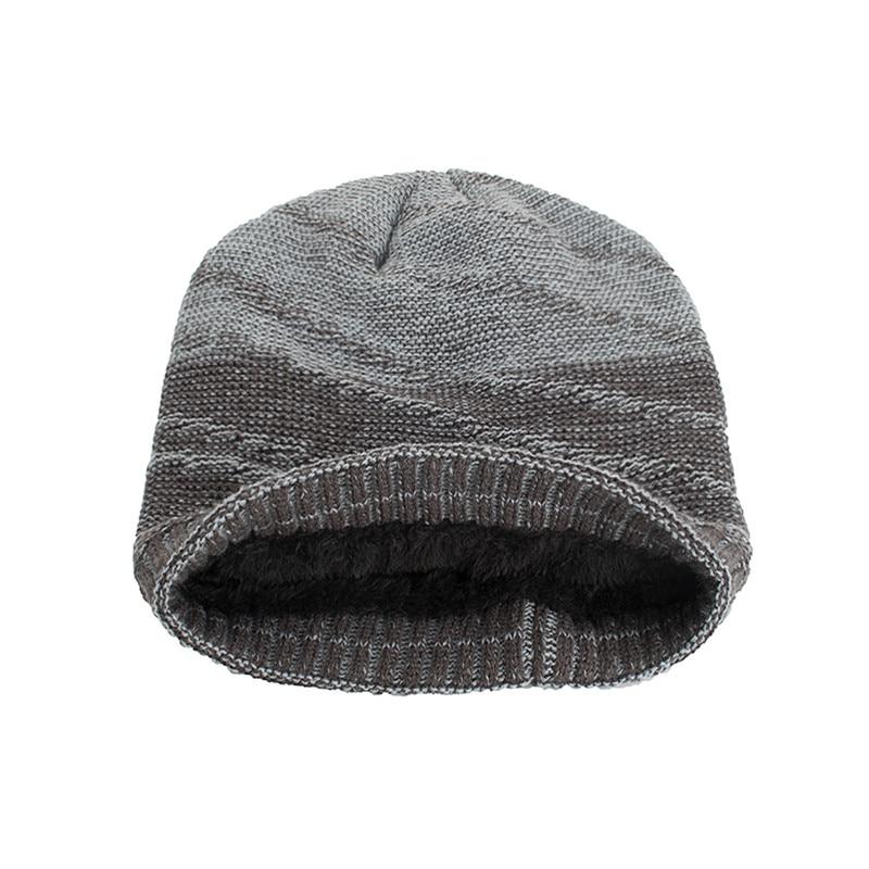 ffa89582233 FRALU Brand bone men s Winter Hat knitted acrylic beanies men warm  capTurban Caps Skullies Balaclava Hats For women gorros-in Skullies    Beanies from ...