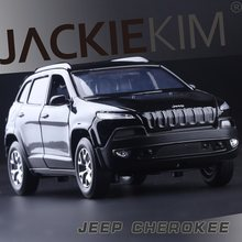 High Simulation Exquisite Diecasts & Toy Vehicles: CaiPo Car Styling Domineering Jeep Grand Cherokee 1:32 Alloy SUV Car Model(China)