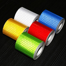 3M Bicycle Reflector Sticker Bike Bicycle Sticker Cycling Wheel Rim Reflective Stickers Reflective Film  Stickers