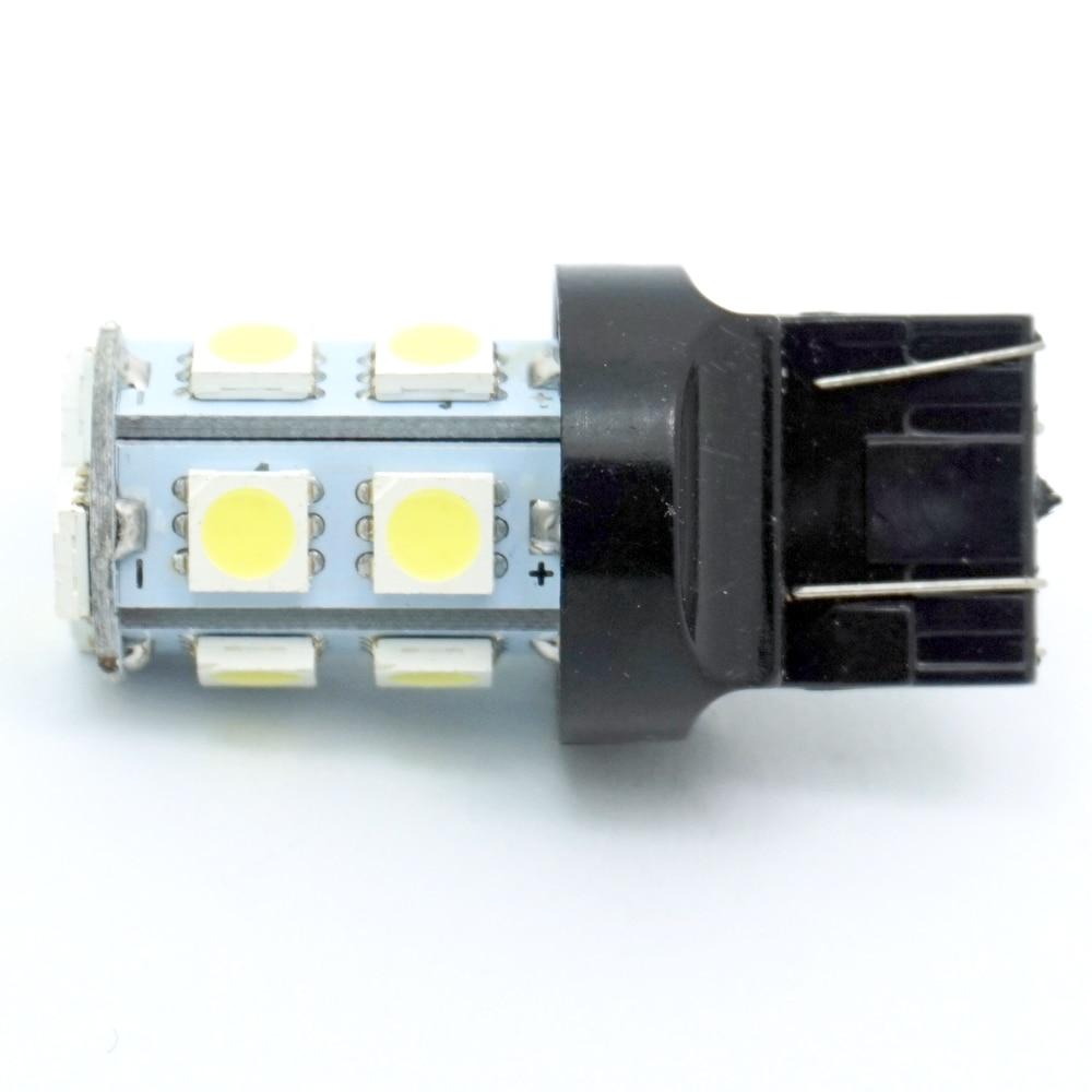 CQD-Light T20 W21/5W 7443 7440 13 SMD DC12V 5050 LED Pure White Car Auto Light Source Brake Parking Reverse Lamp Bulb Best Price