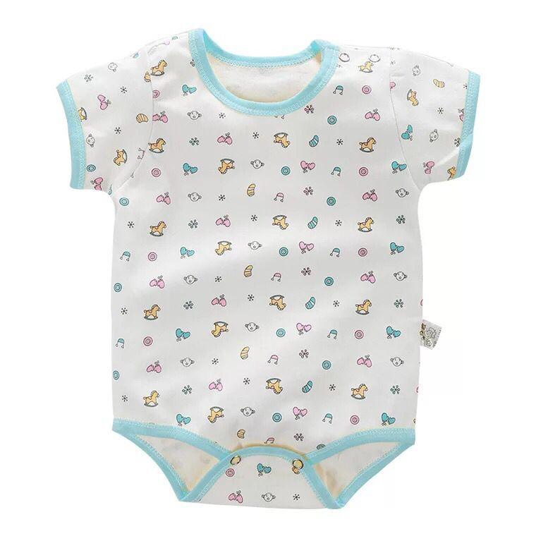 Body z krótkim rękawem Body dla noworodka Dziewczynka Body - Odzież dla niemowląt - Zdjęcie 5