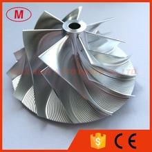 Hx40 turbocompressor de alto desempenho alumínio 2068/moagem/boleto compressor roda 60.03/85.98mm 7 + 7 lâminas