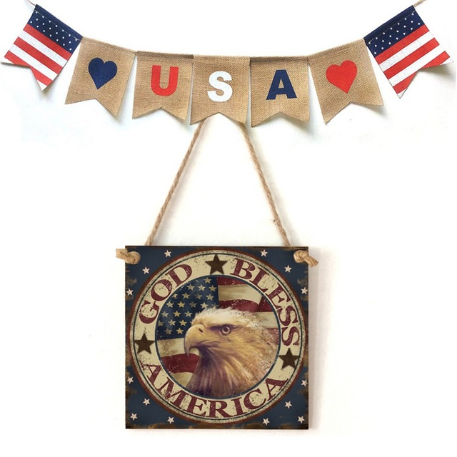 American Styled Hanging Sign
