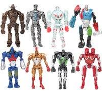8 pcs/set Kids my Jakks robot little Set Toy action figure dolls poni for children birthday holiday gift