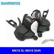 Shimano Deore M610 SL-M610 Shift 2x10/3x10 рычаг переключения скорости набор переключения тропа MTB R+ L 2/3x10 скорость Rapidfire