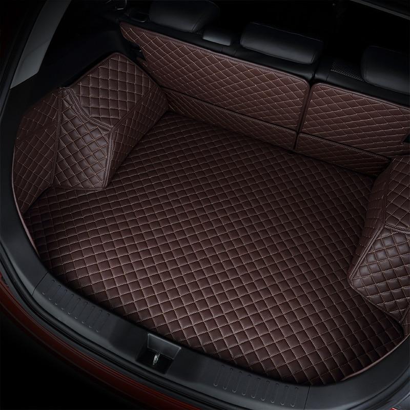 kalaisike custom car trunk mat for jeep All Models renegade compass cherokee patriot wrangler car accessories
