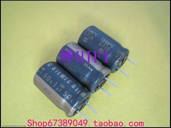 2019 hot sale 20PCS/50PCS Imported ELNA original SILMIC electrolytic capacitor 50v1uf 10x16mm free shipping free shipping 50pcs aqy212eh aqy212 212eh dip4 original