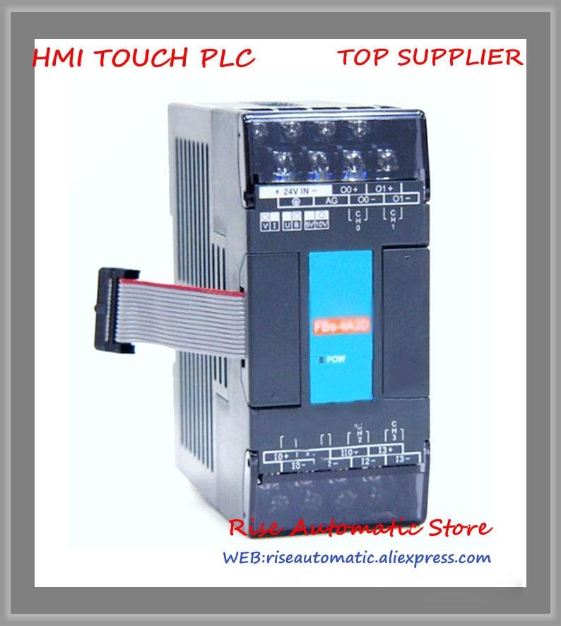 FBs-4A2D New Original PLC 24VDC 4 AI 2 AO Module brand new original plc 24vdc 2 ai 4 rtd temperature input fbs 2a4rtd