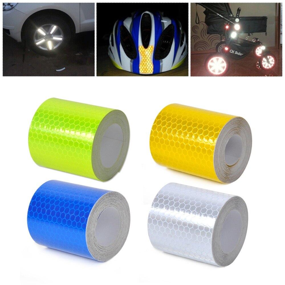 CITALL 2 X 10 3 м 3 м X 5 см светоотражающие безопасности Предупреждение видимости ленты Пленки Стикеры знаки для автомобиля Грузовик Мотоцикл Acc