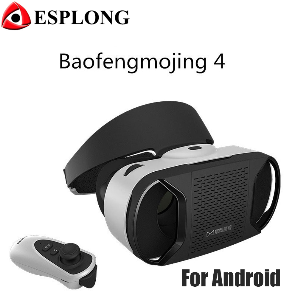 Hot Baofeng Mojing 4 Generation font b VR b font Virtual Reality 3D Glasses For Android