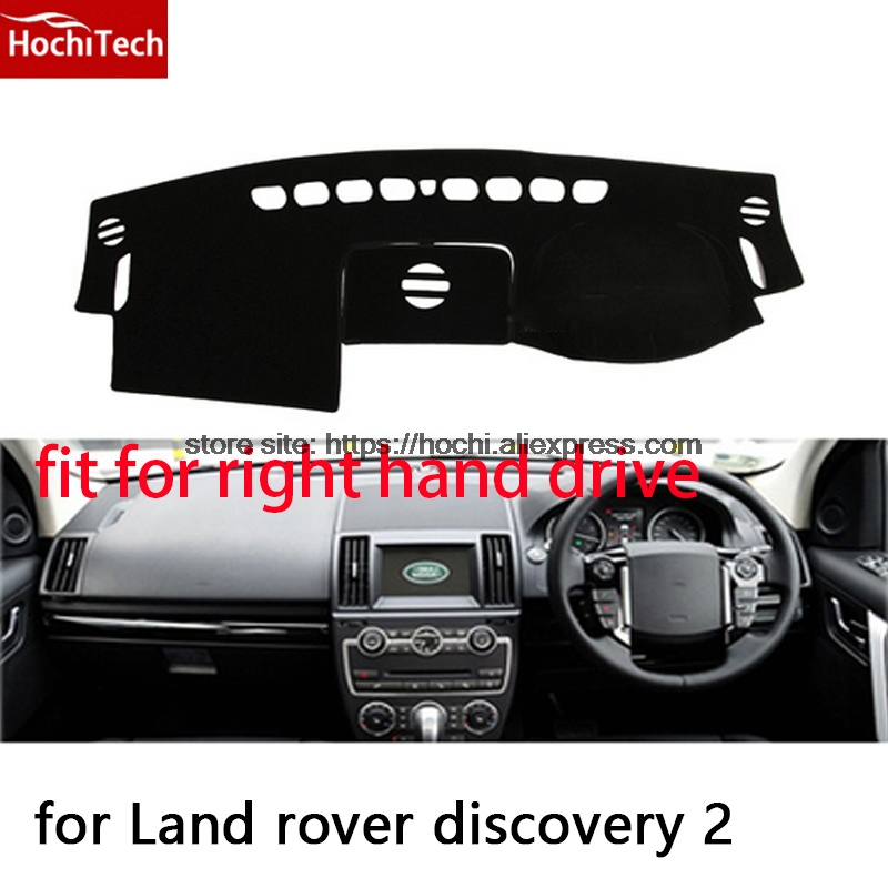 For land rover discovery 2 right hand drive dashboard mat Protective pad black car-styling Interior Refit sticker Mat products for toyota prius 2012 2013 right hand drive dashboard mat protective pad black car styling interior refit sticker mat products