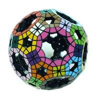 Yklworld 62 односторонний полые Футбол tuttminx Интеллектуальный Магический кубик ПВХ Стикеры Cubo Magico, пазл, игра, развитие игрушка в подарок (S8