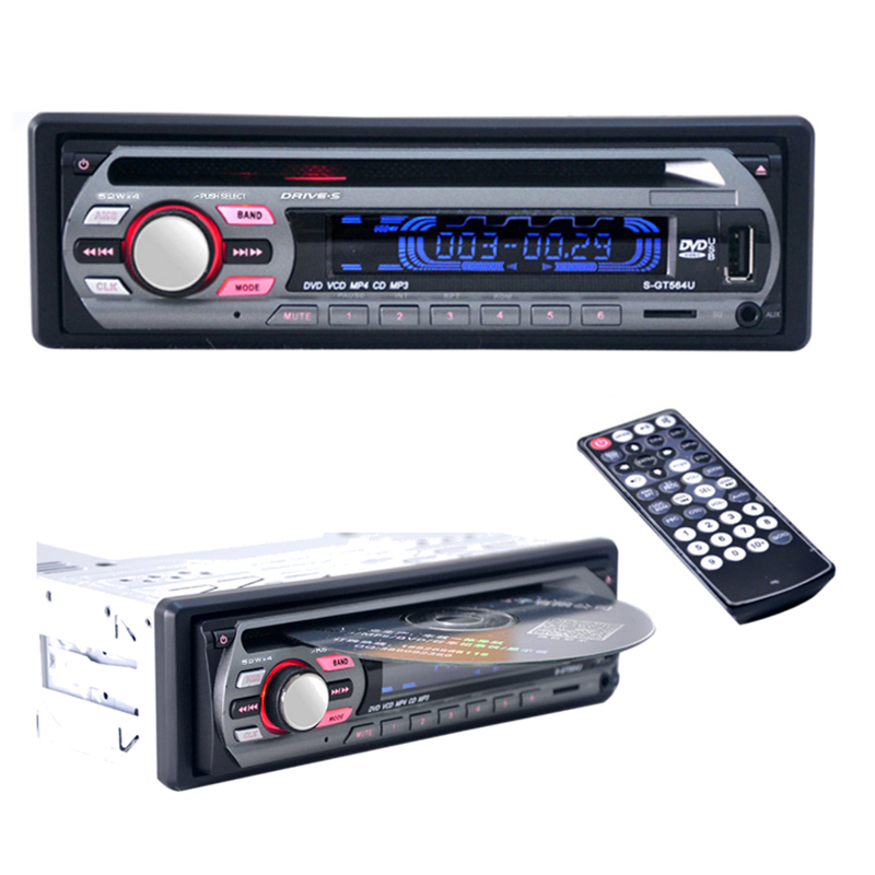 best 2016 12v car stereo fm radio mp3 audio player support fm usb sd dvd mp3 player aux mic with. Black Bedroom Furniture Sets. Home Design Ideas