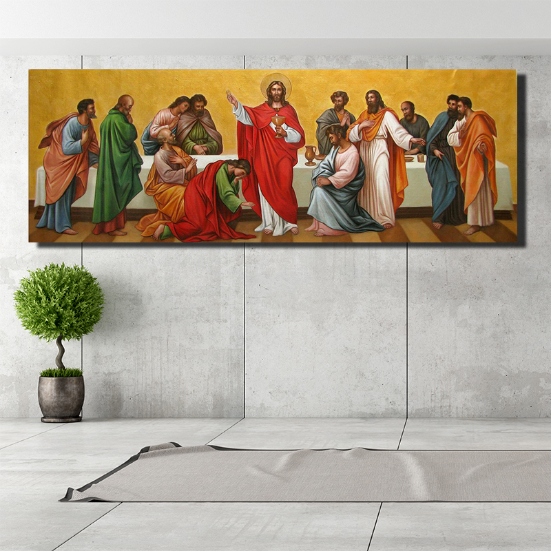 Christian Wall Art Jesus And His 12 Disciples