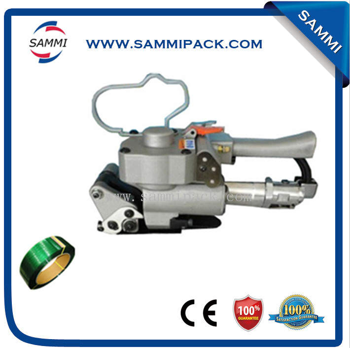 Widely used Pneumatic pet strapping machine for Polyester/PP/PET Strap  цены