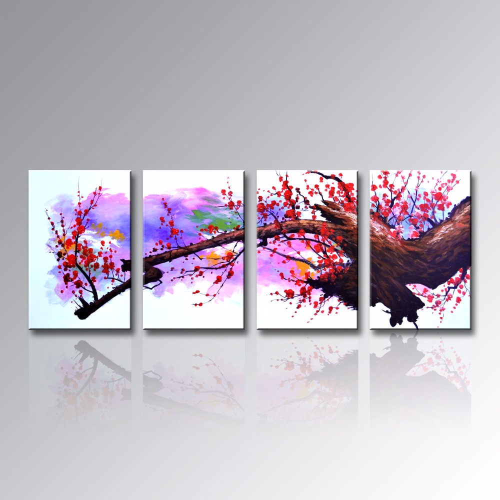 popular asian flower paintings-buy cheap asian flower paintings