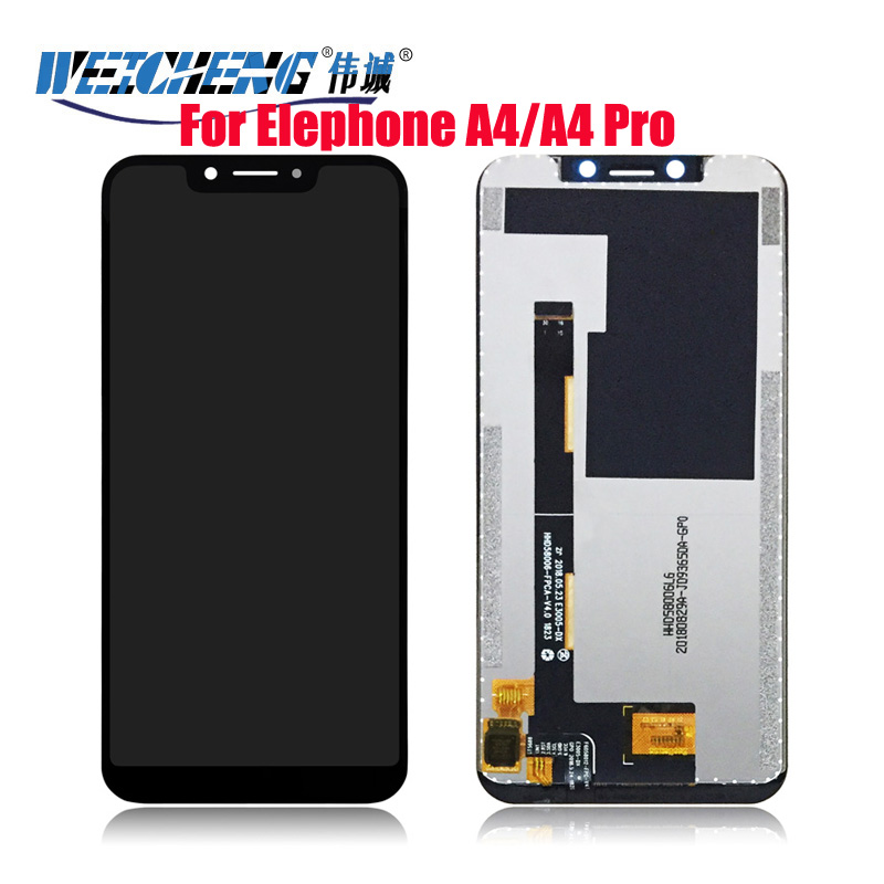 "For Elephone A4/elephone A4 pro LCD Display and Touch Screen 5.85"" Mobile Phone Accessories For Elephone A4 Pro LCD"