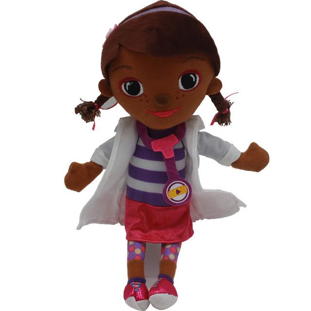 Anime Plush toy doctor Doc McStuffins Dottie Hippo sheep Animal stuffed Plush doll Children Kids baby gift Hot Sale 28-34cm