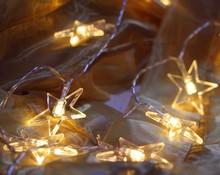 Купить с кэшбэком 8M 50LED String lights Star Fairy Light For Wedding Party window Garden Christmas Holiday Garland Decoration Outdoor lighting
