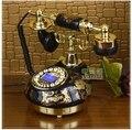 Телефоны бесплатная доставка / черный TQJ аутентичные керамика ретро аон / подсветкой / громкой связи