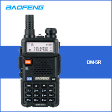 De Baofeng DM 5R Digital Walkie Talkie jamón CB VHF UHF DMR estación de Radio doble dual transceptor de banda Boafeng escáner comunicador