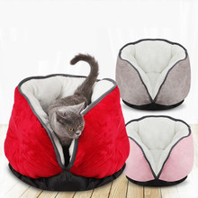 Pet Dog Cat Beds Mats Puppy House Cat Nest Kennel  Winter Keep Warm Cat Sleeping Bags Pad Pet Accessories Supplies Product