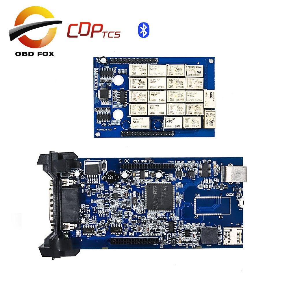Цена за V2014R3 tcs pro cdp супер cdp tcs многоязычная obd2 диагностический инструмент CDP с bluetooth для автомобилей truck Бесплатной доставка
