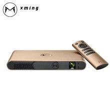 Оригинальный xming S2 лазерный проектор alpd DLP автоматическую фокусировку 3D проектора здание 2 + 16 г Android 4.4 proyector