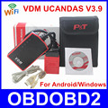 100% Original VDM UCANDAS PT520 One Year Free Update Online VDM Full System V3.9 Supports WIFI&USB Connection DHL Free Ship