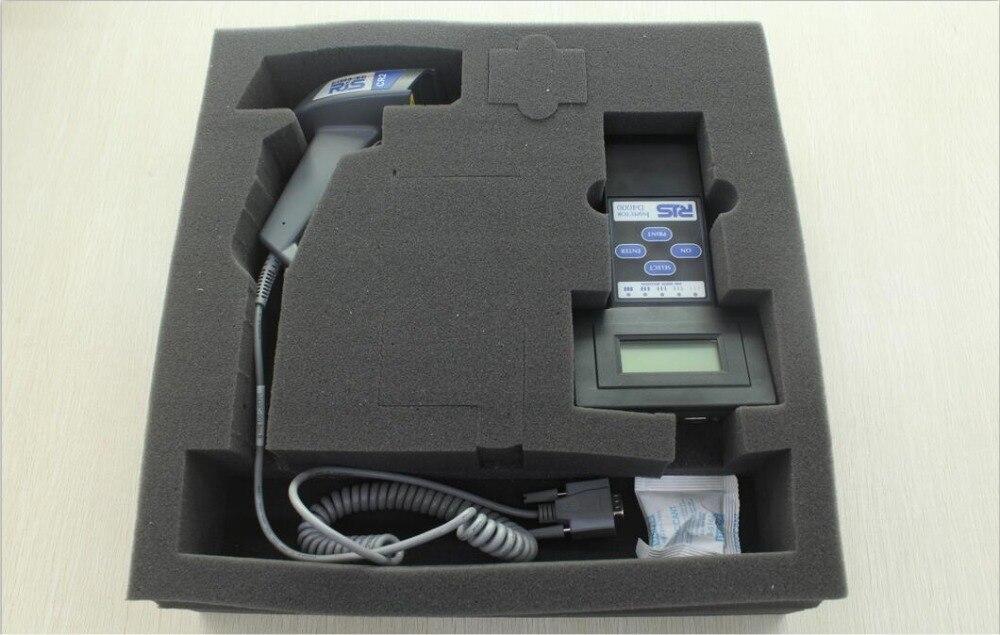 RJS штрих verifier инспектор модель D4000L Часть #: 002-7851