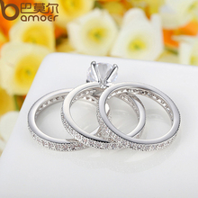 Luxury Brand Fashion Silver Color Ring YIR031