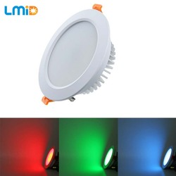 Lmid oprawy Led typu downlight RGB DC24V panel downlight lampa led zmienny downlight led 18 W 24 W 30 W 36 W lampy sufitowe