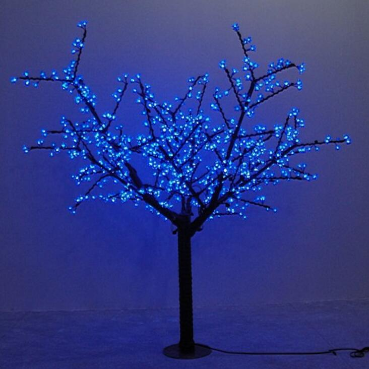 Waterprood IP65 LED Cherry Blossom Tree Light LED synthetic 480pcs LED Bulbs totally 1.5m Height Christmas tree light new arrival christmas yellow home decoration lamp 48 led plum blossom desk top bonsai tree light 52cm height drop shipping