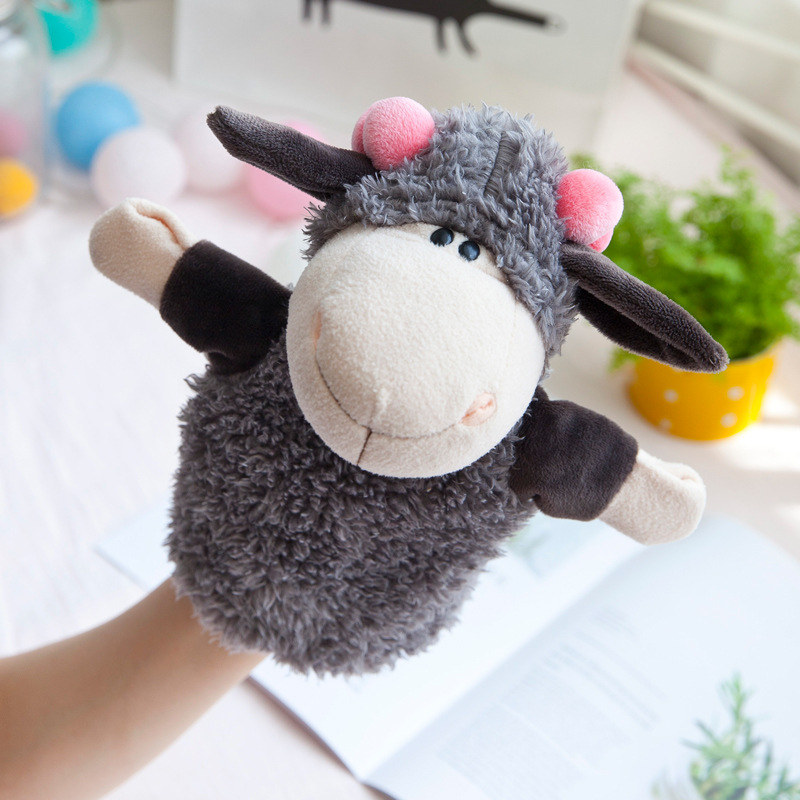 stuffed animals Plush toys for girls tell stories animal Handdoll Comfort toys Sheep elephant chimpanzee lion Cubs Totoro