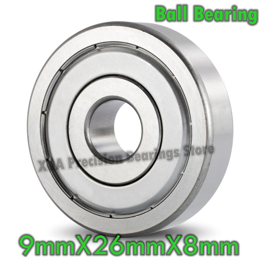 1PC Sealed 6206 RS RZ Ball Bearings 6206-2RS 6206RS Bearing 30x62x16 mm ABEC-3
