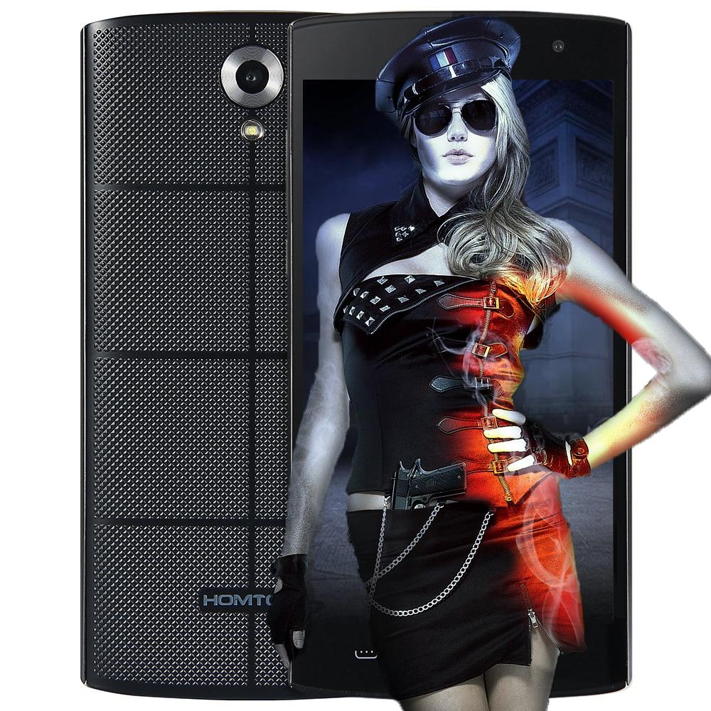 Original HOMTOM HT7 5,5 ''3G Smatphone Android 5.1 MTK6580 Quad Core 8.0MP Handy 1,0 GHz 1 GB + 8 GB 720 P HD Bildschirm Handy