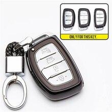 3 Button TPU Car Remote Key Shell Cover Case For Hyundai i10 i20 i30 Elantra Accent IX25 IX35 IX45 Holder Auto Accessorise цена 2017