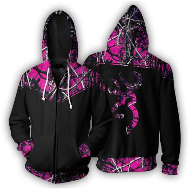 Purple Hunter Camo Full 3D Print - Sweatshirt, Hoodie, Pullover 1