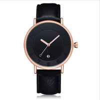 Hot Style Men Casual Watches Top Brand Business Leather Quartz Watch Sport Simple For Male Student