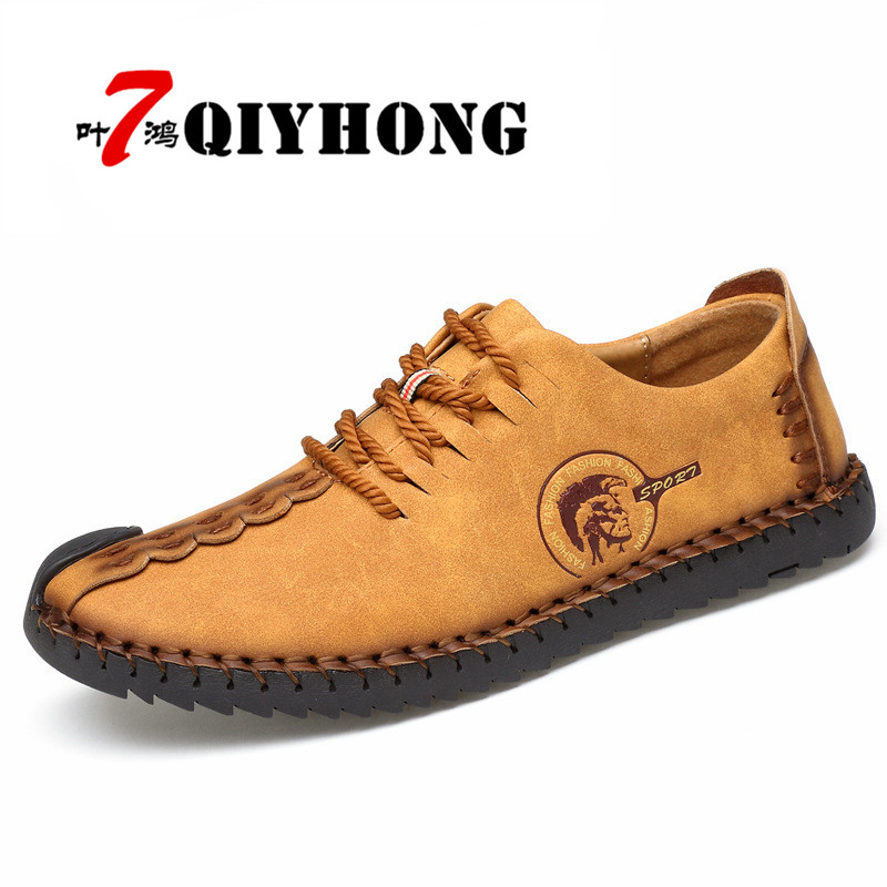 Vente Causal Nouvelle Cuir 1 Huarache Confortable Hommes 3 Mode Solide 2017 up 5 6 En Véritable Dentelle 4 Chaussures Chaude 2 pPqZO7Wv