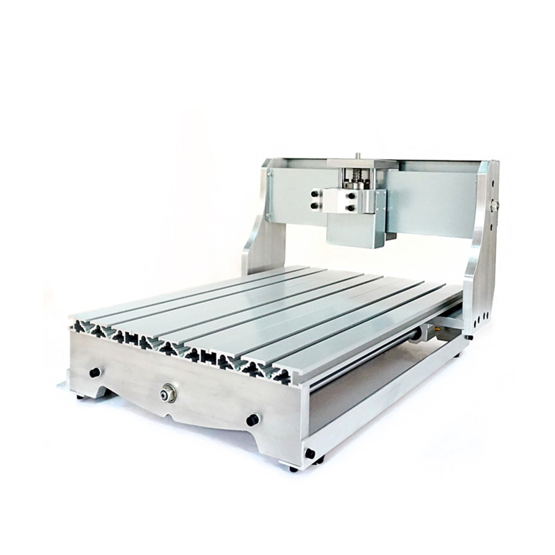 3040 CNC router frame ,DIY CNC frame with ball screw for small engraving machine parts EU tax free metal engraving machine 3040 engraver 800w cnc machine to eu country free tax