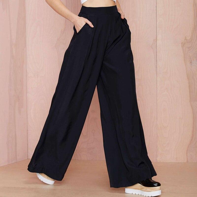palazzo pantalons femmes promotion achetez des palazzo pantalons femmes promotionnels sur. Black Bedroom Furniture Sets. Home Design Ideas