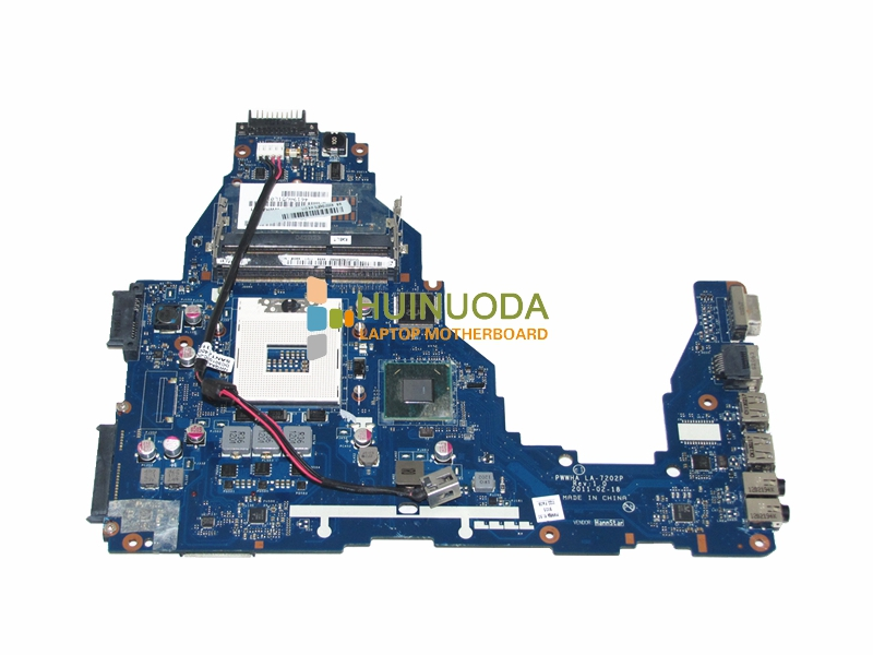 NOKOTION K000124370 LA-7202P Laptop Motherboard For Toshiba Satellite C660 Main Board HM65 DDR3 GMA HD3000 nokotion genuine h000064160 main board for toshiba satellite nb15 nb15t laptop motherboard n2810 cpu ddr3