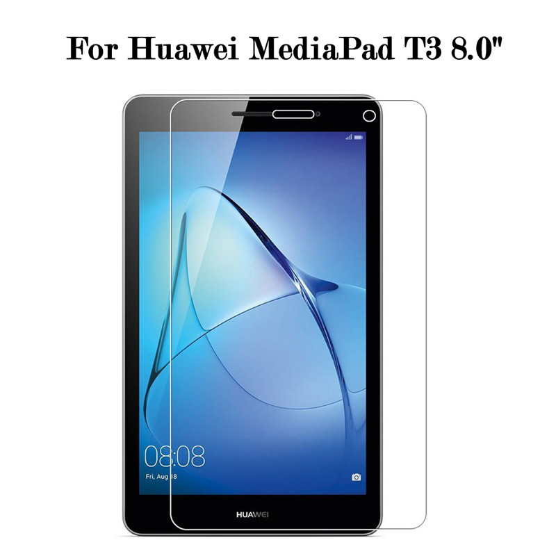 Tempered Glass For Huawei Mediapad T3 8 8.0 KOB-L09 W09 Screen Protective Film Tablet Screen Protector For Mediapad T3 8.0 Inch
