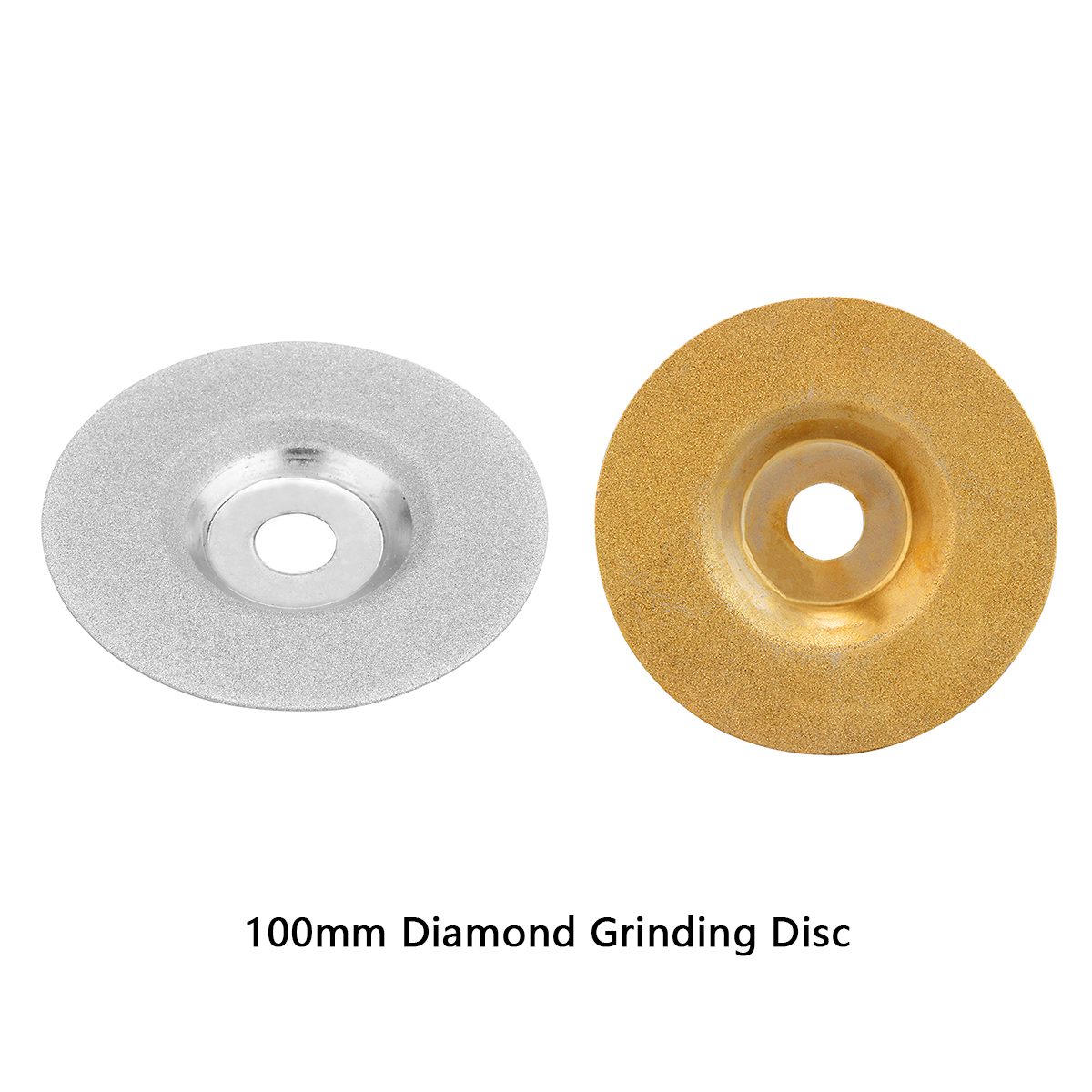 100mm Diamond Grinding Disc Cut Off Discs Wheel Glass Cuttering Saw Blades Rotary Abrasive Tools Gold/Silver