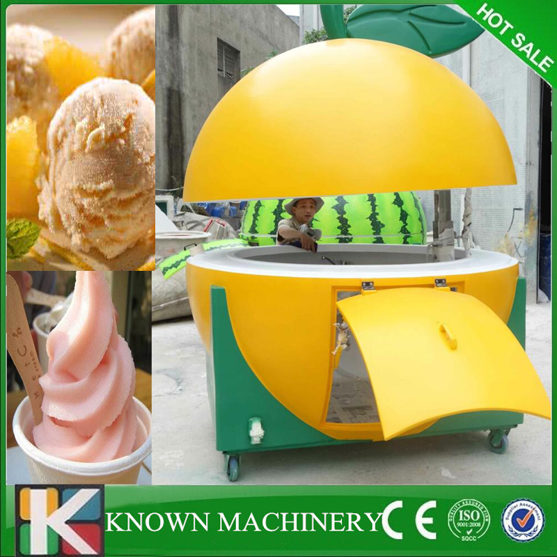 Commercial 4 roues Orange pastèque rue nourriture panier rue fruits shapeskiosque livraison maritime gratuite