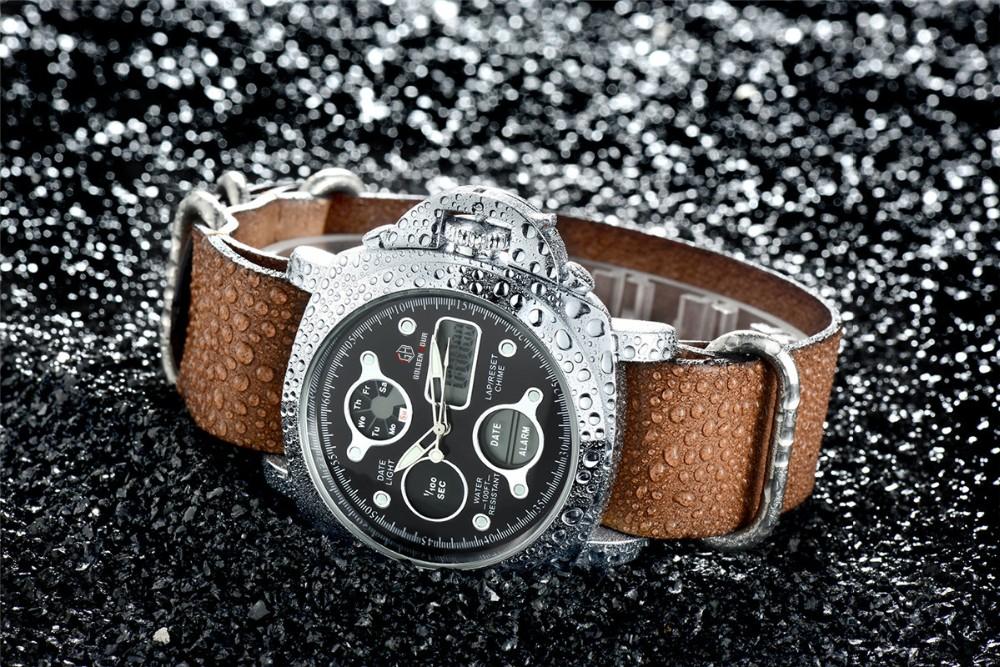 ผู้ชายแฟชั่นW Ristwatcheหรูหราร้อนแบรนด์ฉลามนาฬิกาสไตล์ผู้ชายสายหนังนาฬิกากีฬานาฬิกาที่มีคุณภ... 21