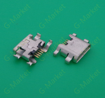 1000pcs/lot For ZTE Blade L2 S6 5.0 U807 N983 N807 U956 N5 N909 N798 N980 N986 B880 Micro USB connector socket charging port
